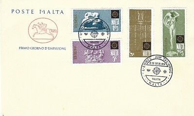 MALTA : 1970/80's UNADDRESSED FDC POSTE MALTA THREE NICE CLEAN COVERS SEE SCANS.