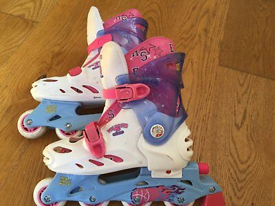 Girls in line skates. Size 2-4