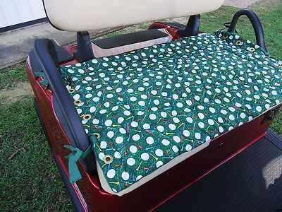 Golf Cart / Buggy Seat Cover 100% Cotton