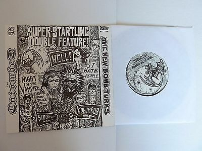 """The Entombed/new Bomb Turks Night Of The Vampire/i Hate People 7"""" Single Exc"""