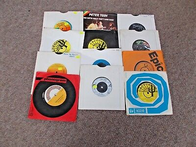 """Job lot 12  7"""" Records Reggae/Northern Soul/Soul/Disco (See details in listing)"""