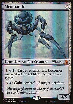 1x FOIL MEMNARCH - Rare - FTV Lore - MTG  NM - Magic the Gathering