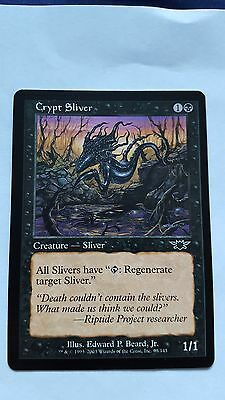 1x CRYPT SLIVER - Rare - Legion - MTG - NM - Magic the Gathering