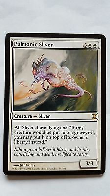 1x PULMONIC SLIVER - Rare - Time SPiral - MTG - NM - Magic the Gathering