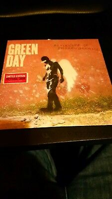 "green day - boulevard of broken dreams 7"" picture disc"