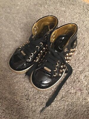 Young Versace trainers Size 9 27 Unisex