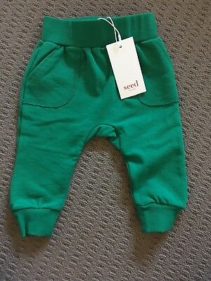 Seed Heritage Baby Track Pants 00 3-6months BNWT