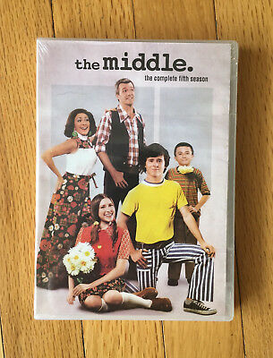 NEW: The MIDDLE The Complete Fifth Season 5  Five 5th (DVD) TV Show
