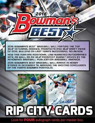 Bowman's Best Baseball 2016 8 Box Full Case Break #1 TORONTO BLUE JAYS