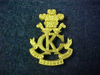 "Rare Original WW1 Cap Badge Kings Colonials ""Side Badge"""