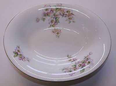 COALPORT: 'Blossomtime'  Oval Serving Bowl