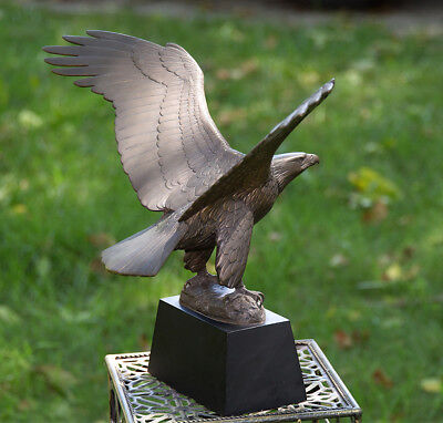 "Limited Edition Franklin Mint Bronze ""GREAT AMERICAN EAGLE"" by Gilroy Roberts"