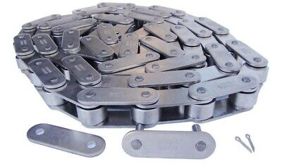 C2082HSS Stainless Steel Conveyor Roller Chain 10 Feet with 1 Connecting Link