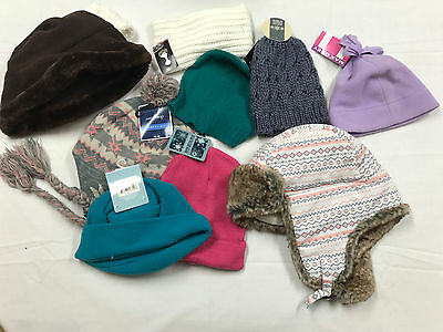 Women's Hats Scarves Gloves NEW Lot Of 30+