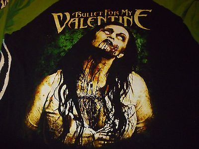 Bullet For My Valentine Shirt ( Used Size L/M ) Very Good Condition!!!