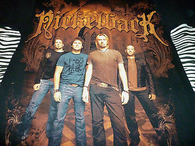 Nickelback 2010 Tour Shirt ( Used Size S ) NEW!!!
