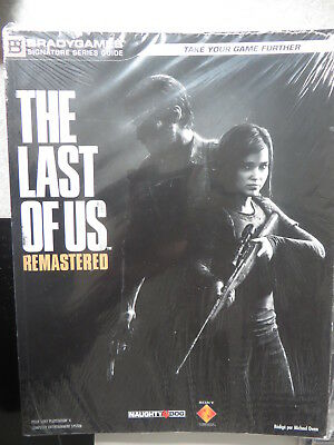 Guide the last of Us Remastered BRADYGAMES neuf sous cellophane