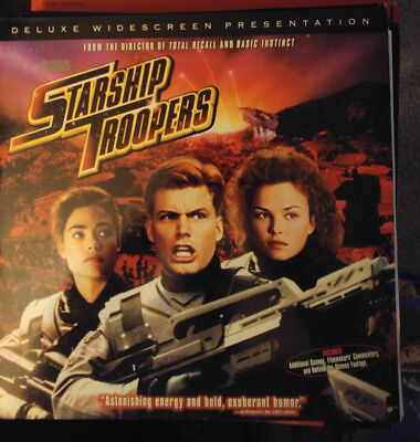 Laser Disc Starship Troopers