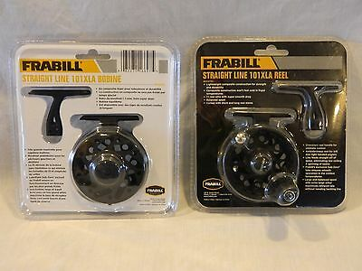 NEW Frabill Straight Line 101XLA Ice Fishing Reel #669701