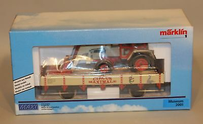 Marklin Hungary 1 Gauge Train Maxi Circus Maximale Museum 2001 Freight Car New