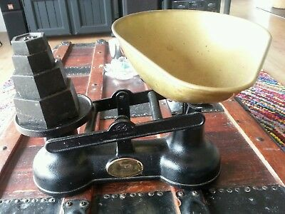Scales Kitchen Vintage - Salter - Rare Find Complete Set - Great Condition