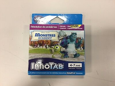 Vtech InnoTab Video Game Disney Monsters University (VERSION - FRENCH)