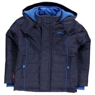 Slazenger Winter Jacket Children's Boy's Winter Coat Jacket New Padded 7009