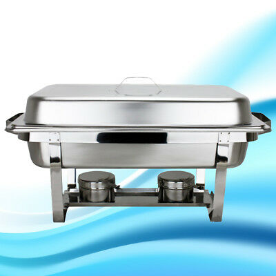 Catering Classic STAINLESS STEEL CHAFER CHAFING DISH SETS FULL SIZE BUFFET 2017