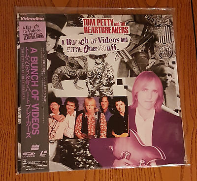 Tom Petty - Bunch of Videos and Some Other Stuff (1989) JAPAN PRINT OBI NTSC