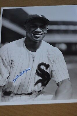 Hector Rodriguez Autographed signed 8x10 photo White Sox, Negro League D:2003