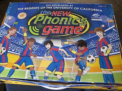 "The Literacy Projects ""The New Phonics Game"" University of CA. English Reading.."