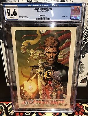 Seven To Eternity #5 CGC 9.6 NM+ SILVER FOIL VARIANT Sold Out