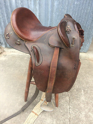 Syd Hill Stock Saddle