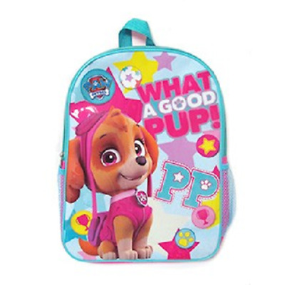 Nickelodeon Paw Patrol Skye Backpack Bag with Drink Bottle Holder Pouch Pup