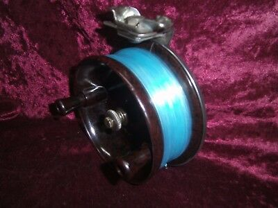 Vintage Charles Alvey Reel Model 50 A1 7 Made In Australia.