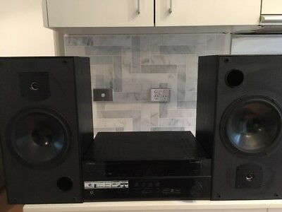 home entertainment system Yamaha AV receiver RX-V677