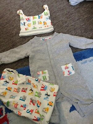 Cath Kidston 0-3 Months Unisex Outfit