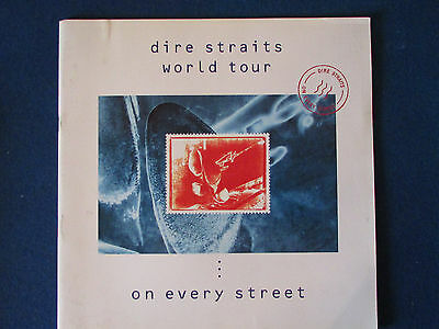 Dire Straits - Concert Tour Programme -  1991/92 - On Every Street
