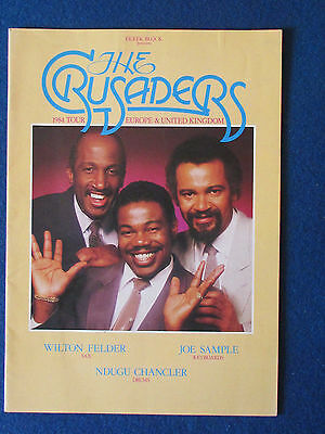 The Crusaders - Concert Tour Programme - 1984