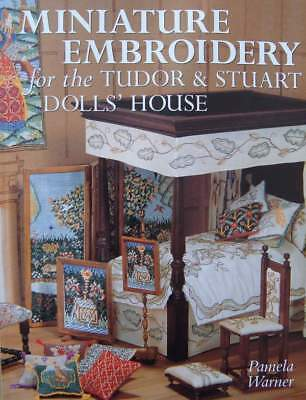 BOEK/LIVRE : EMBROIDERY FOR THE DOLL HOUSE  (borduurwerk voor poppenhuis,pop