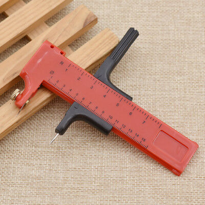 10-150mm Plastic Compass Circle Cutter Rubber Paper Cut Hand Tool Adjustable