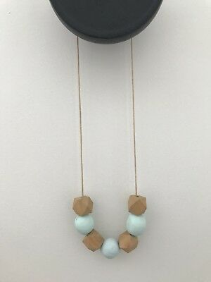 Timber & Clay Necklace