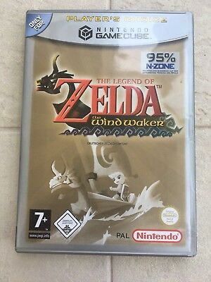 The Legend Of Zelda Wind Waker - Nintendo Gamecube - Europe PAL - Complete!