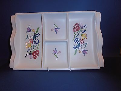 Poole  Wave Form Hors D'oeuvres Tray