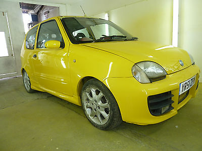 fiat seicento 1.2 8v 6 speed !fully resprayed! unfinished project!