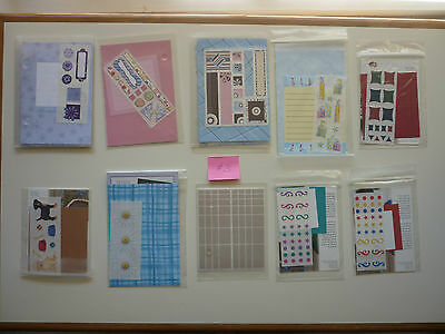 Bundle of Creative Memories Page Completion/ Thank You Kits  # 3 ** FREE POST**