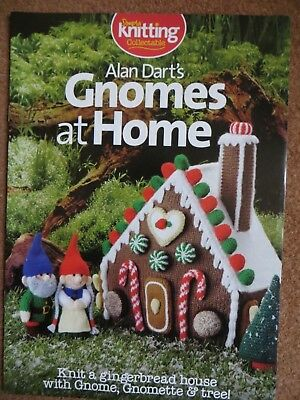 Simply Knitting - Alan Dart's Gnomes at Home - Gingerbread House