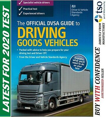 Latest The Official DVSA Guide to Driving Goods Vehicles Test Book 2019 'Gods