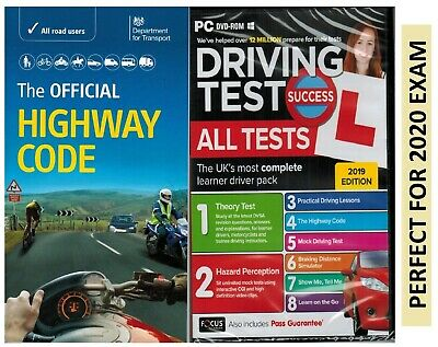 Driving Theory Test & Hazard + Highway Code Book. 2019 Latest Edition NEW -atpHw