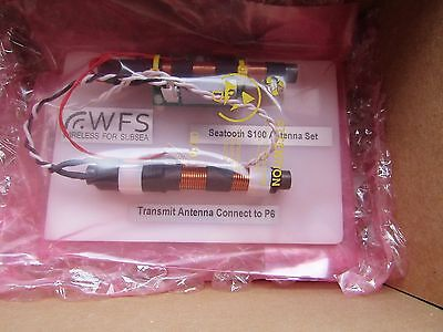WFS Seatooth RS232 Subsea Radio Industrial Modem 2.4kbit/s 3.6-28Vdc T&M 8239082